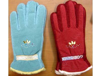 Sarung Tangan Kulit Bulu Wanita sarung tangan wanita lucky rider