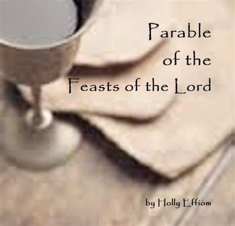 libro the feast of the parable of the feasts of the lord de holly effiom libros