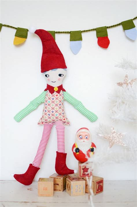 Elf Pattern Pinterest | free elf doll sewing pattern sewing toys kid stuff