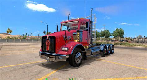 kenworth t800 kenworth t800 interior v1 0 v1 2 x 187 truck