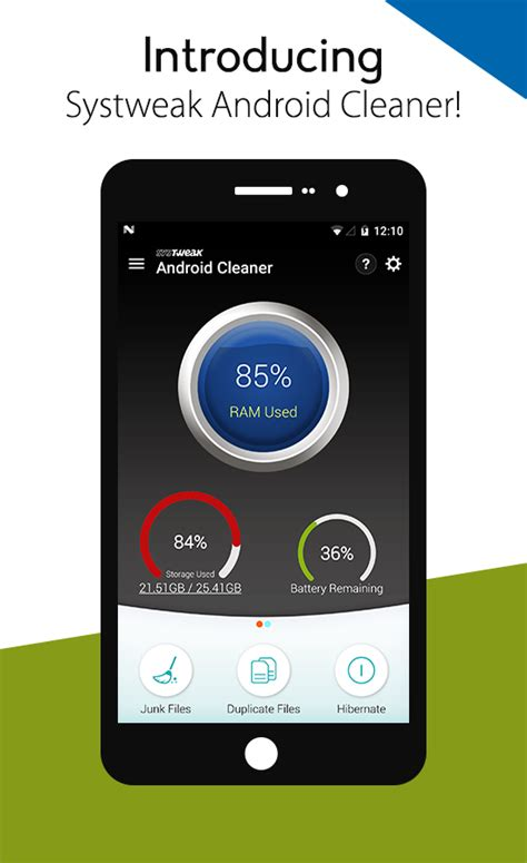 app cleaner for android systweak android cleaner android apps on play
