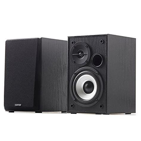 edifier r980t 4 quot active bookshelf speakers 2 0 computer