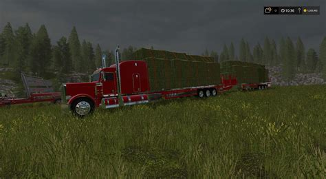 Handcrafted Ls - handcrafted ls peterbilt 388 flatbed custom v1 for ls 17