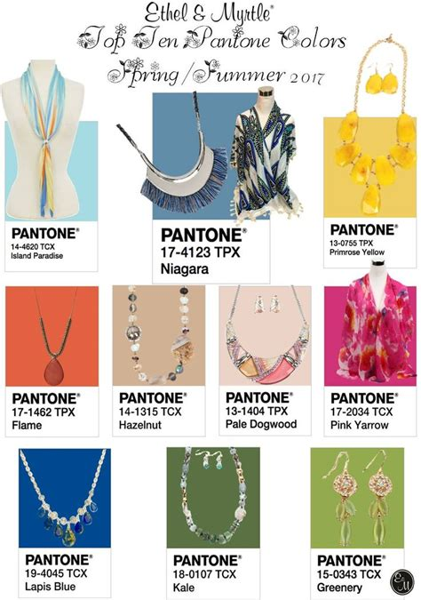 pantone spring summer 2017 12 best top 10 pantones spring summer 2017 images on