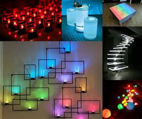 led decorations 10 creative led lights decorating ideas hative