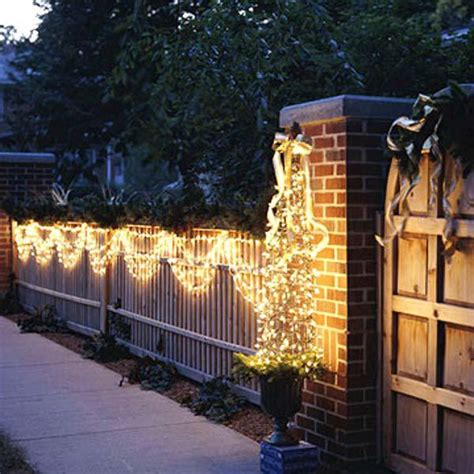 lights on fence ideas 15 superb garden fence lighting ideas