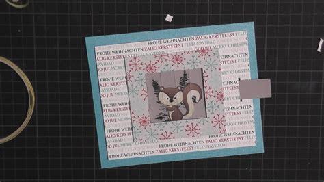 carding tutorial german wechselkarte changing picture card tutorial deutsch