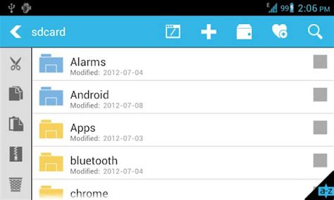 explorer for android file explorer the only file manager for android with jump scroll