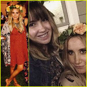 ashley tisdale celebrates 31st birthday with a backyard