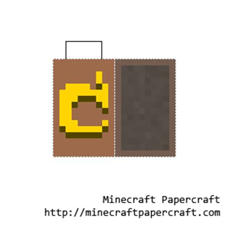 Minecraft Papercraft Cape - papercraft notch