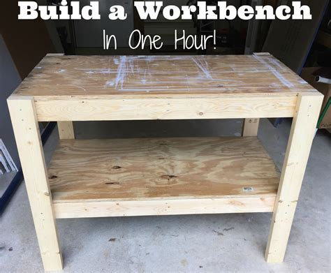 cheap work benches diy workbench with free plans and cut list from the craft