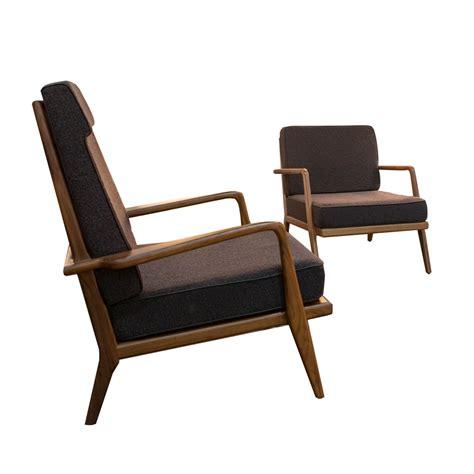 armchair high back high back rail back armchair mel smilow suite ny