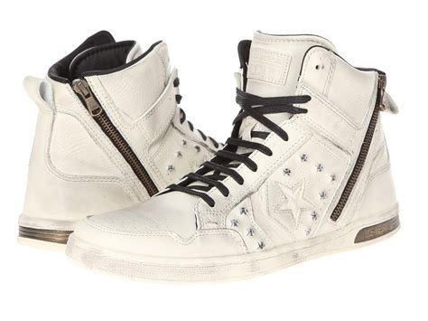 Converse Varvatos Weapon Denim Turtledove Zip converse by varvatos weapon zip hi hardware