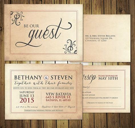 wedding invitation mr and guest and guest on wedding invitation oxsvitation