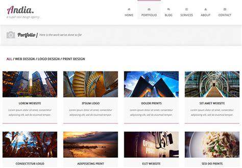 bootstrap portfolio template andia free responsive bootstrap template creative beacon