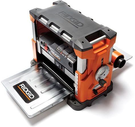 ridgid woodworking tools portable wood planer woodworking projects plans