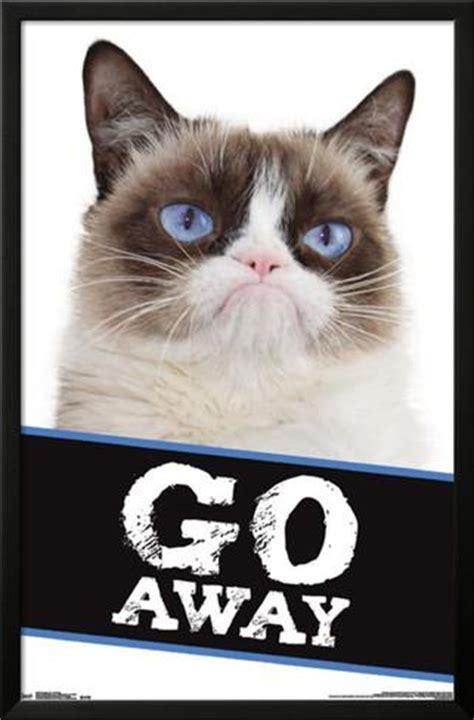 Go Away by Grumpy Cat Go Away Posters Allposters Ca