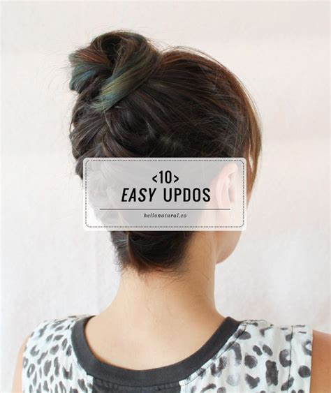 easy updo thin hair 10 easy updos you can actually do with 2 hands hello glow