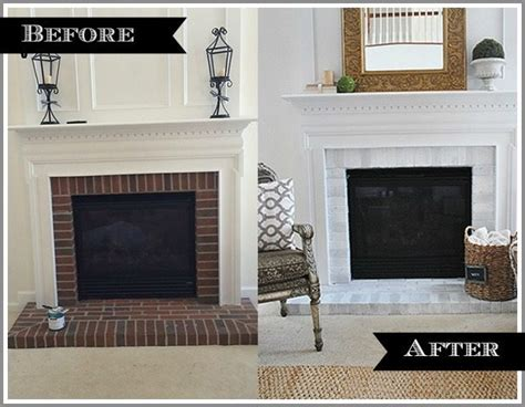 Refinish Your Kitchen Cabinets by How To Paint Your Brick Fireplace Surround 11 Magnolia Lane