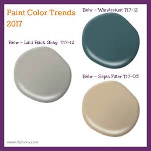 color trends for 2017 2017 paint color trends divineny com