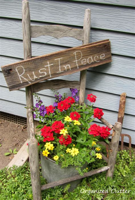outdoor yard decorating ideas organized clutter garden junk doesn t last forever