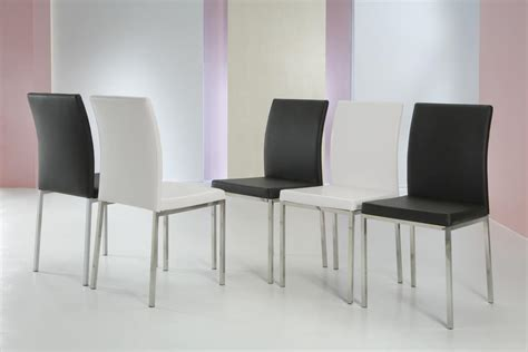sedie pranzo imbottite sedia da pranzo imbottita rivestita in ecopelle idfdesign