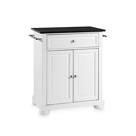 buy crosley alexandria black granite top portable kitchen