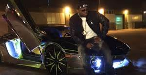 50 Cent Lamborghini Rapper 50 Cent Uses Teamsalamone Lamborghini Cafe Spa