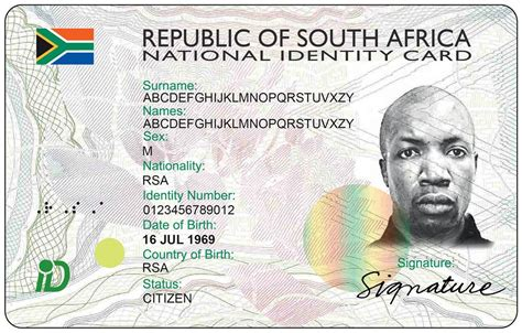 south id card template everyone can get a smart id krugersdorp news