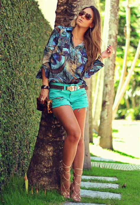 Ways To Look In Shorts by 20 Ways To Wear Shorts In Summer 2014 Pretty Designs