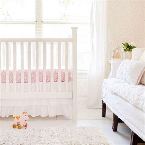 White Crib Bed Skirt White Ruffled Crib Skirt Crib Skirt White Baby Bedding