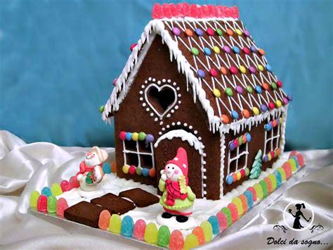 casa marzapane casetta di pan di zenzero dolci da sogno