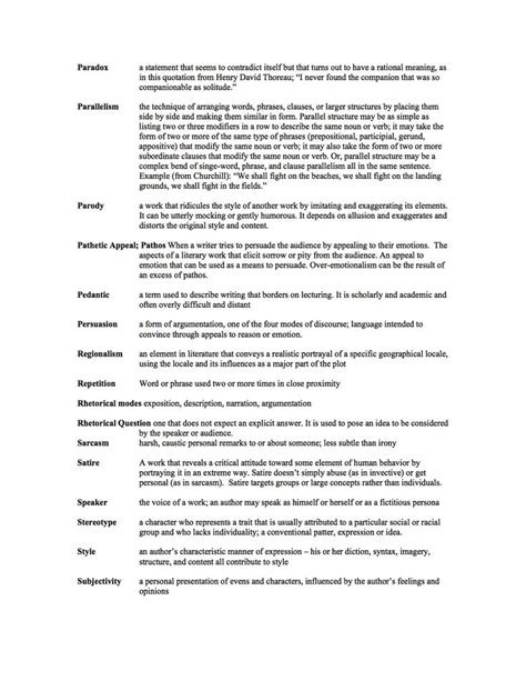 Ap Rhetorical Strategies Essay by Rhetorical Devices Worksheet Worksheets Tataiza Free