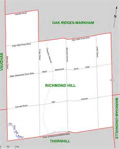 map of richmond hill ontario canada visiting richmond hill ontario historic properties on