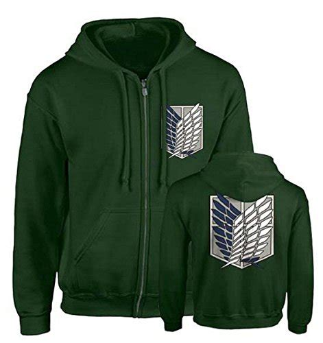 Sweater Jaket Attack On Titan Snk Sporty All Edition uget women s attack on titan sleeve hoodies sweater jacket costume coats home fitness