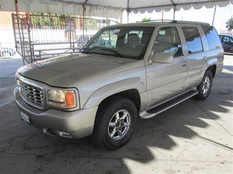 cadillac escalade 1999 cars for sale