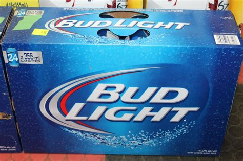 24 case of bud light case with 24cans of bud light beer 4
