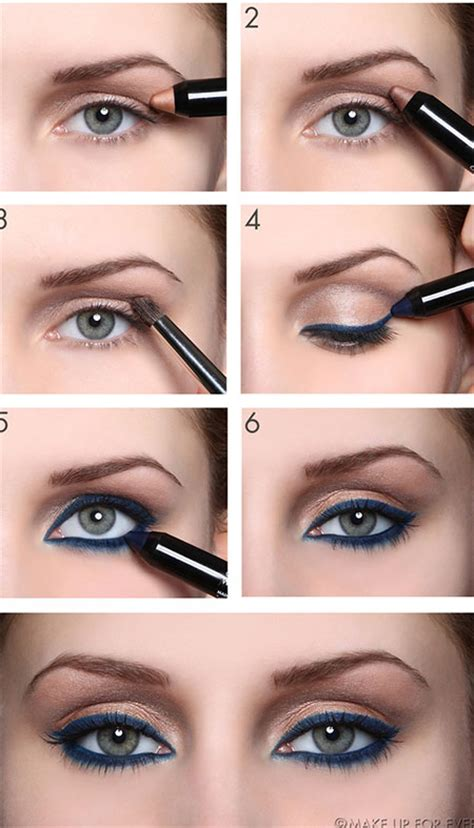 eyeliner tutorial beginners 18 easy fall autumn make up tutorials for beginners