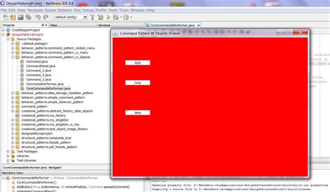 java swing objects sam templates page