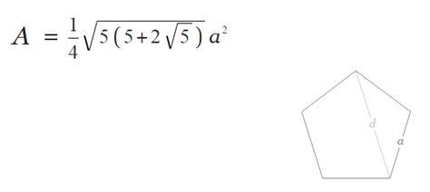 rumus segilima luas keliling  sisi  contoh soalnya