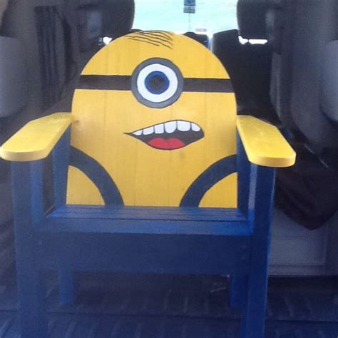Minion Furniture by Minions And Chairs On