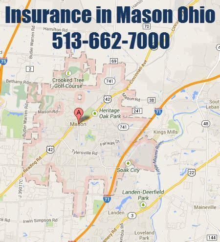 Auto Insurance Mason Ohio, Homeowners insurance Mason Ohio