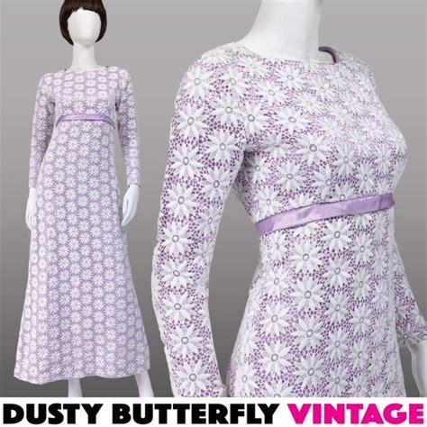 Vintage 70s Wedding Dresses by Vintage Vintage 70s Wedding Dress Boho Lace Crochet Prom