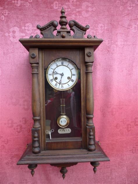 beautiful antique pendulum clock regulator junghans - Regulator Junghans
