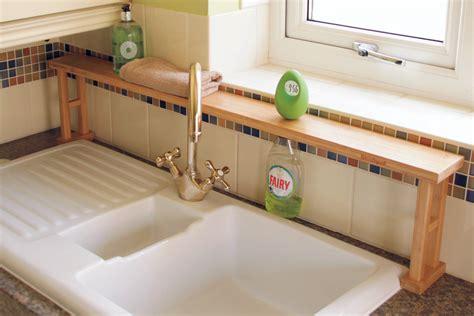 bathroom over sink shelf finoak articles