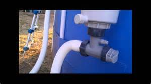 Pool Vaccum Hose Converting The Summer Escapes Pool Filter To Intex