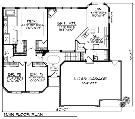 3 bedroom 2 bath 2 car garage floor plans 3 bedroom 2 bath 2 car garage floor plans 28 images