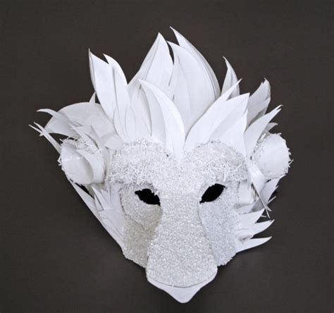 How To Make Animal Masks With Paper - if it s hip it s here archives beautiful cut paper