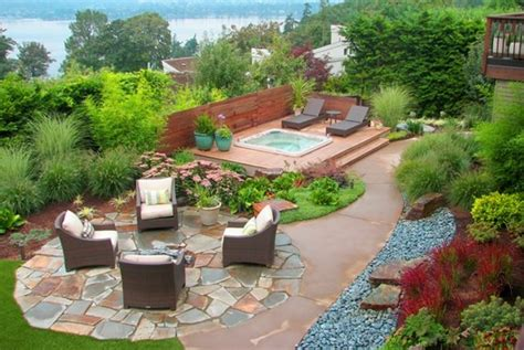 Backyard Spa Landscaping Ideas Spas Issaquah Wa Photo Gallery Landscaping Network