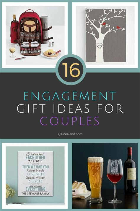 couples gift ideas 16 great engagement gift ideas for couples